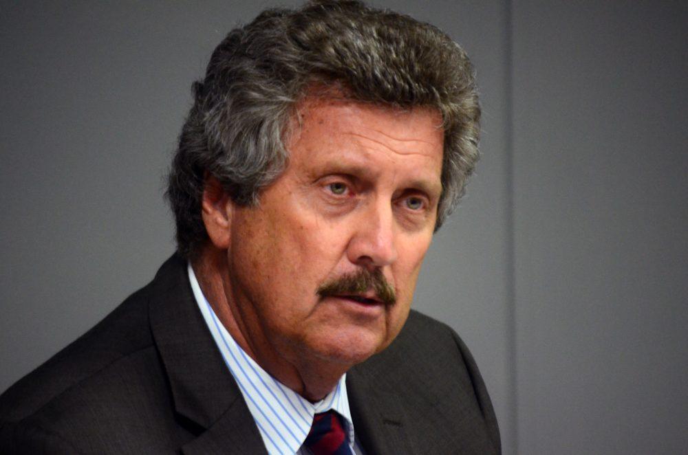 Superintendent Bill Olsen on May 28, 2014