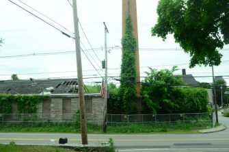 12 N. Main Street, as seen from across the street in early June 2014.