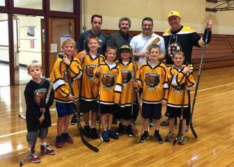 From left to right: Ryan McCarthy, Sam Cioffi, Kailen Richards, Jason Brake (courtesy: Jannelle Cioffi)
