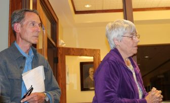 Bill and Marian Harman. FILE PHOTO BY JOYCE PELLINO CRANE
