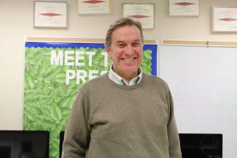 Westford Academy English teacher Jack Holbrook. Holbrook is an advisor for the WA Ghostwriter. PHOTO BY JOYCE PELLINO CRANE