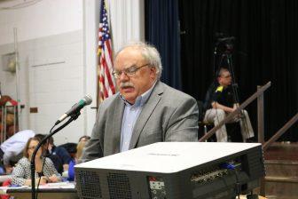 Selectman Chairman Scott Hazelton. PHOTO BY JOYCE PELLINO CRANE